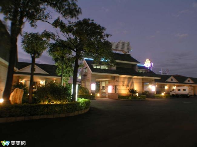 箱根日式庭园汽车旅馆高清图片