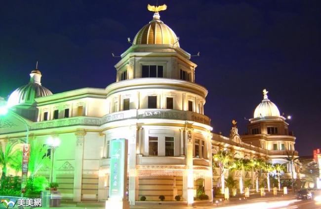 高级雄伟的欧式宫廷建筑